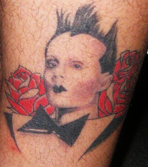 Klaus Nomi Tattoo