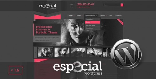 Especial - Portfolio WordPress Theme