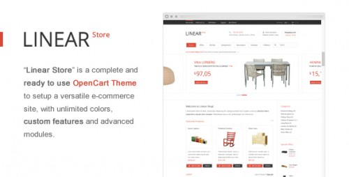 Linear Store – Premium OpenCart Theme