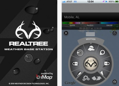 Realtree's Weather Base Station