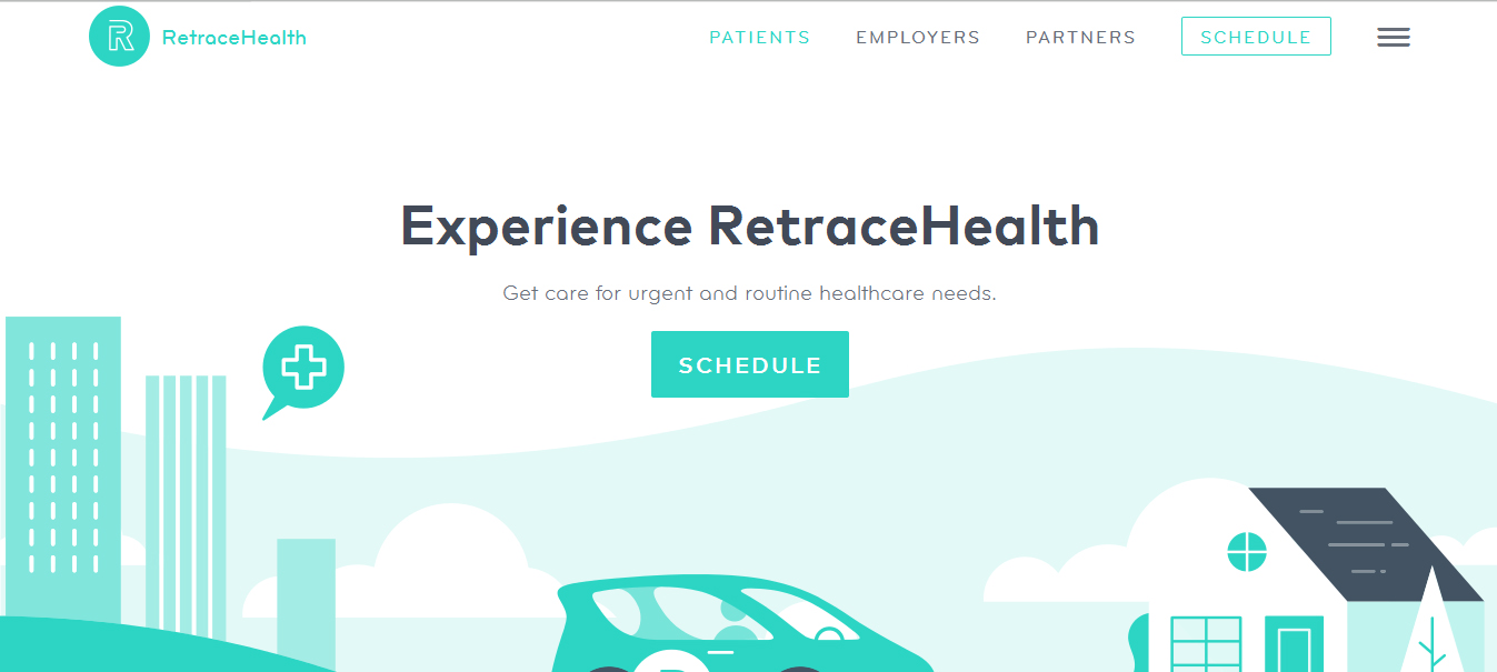 20 wonderful css based web design examples cssclick 7 retrace health madrichimfo Images
