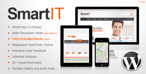 SmartIT Responsive WordPress Theme