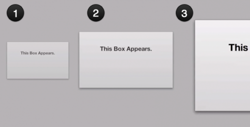 Appearance Animations With CSS3