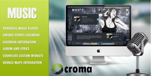 Music: Musicians WP Theme
