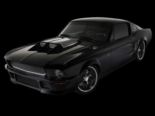 Mustang Obsidian SG-One Car Wallpaper