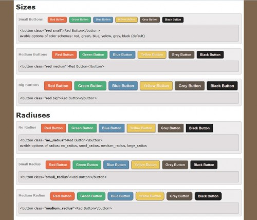 CSS3 Pastele Buttons
