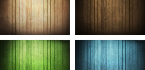 9 Free Wood Background Set