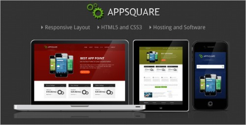 AppSquare - Software and Hosting Theme