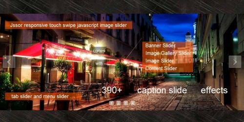 Mobile Touch Swipe, jQuery Plugin Jssor Slider