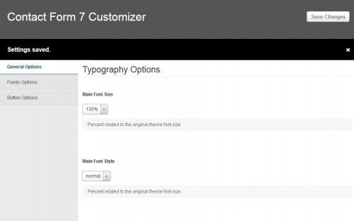 Contact Form 7 Customizer