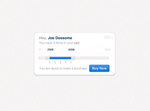 How to Design a User-Interface Element
