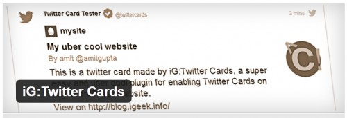 iG:Twitter Cards