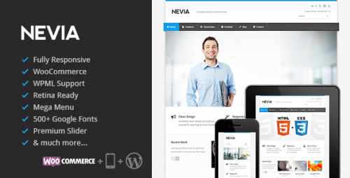 Nevia - Responsive Multi-Purpose WP Theme