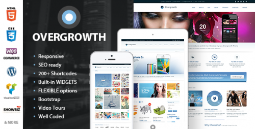 Overgrowth - Retina Responsive Multi-Purpose Theme