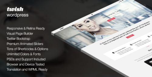 Twish - Responsive Multi-Purpose Theme