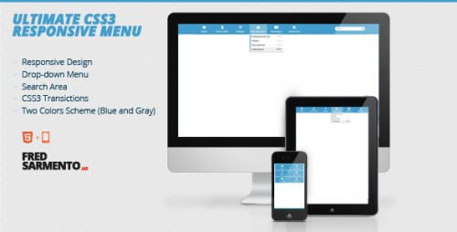Ultimate Responsive CSS3 Menu