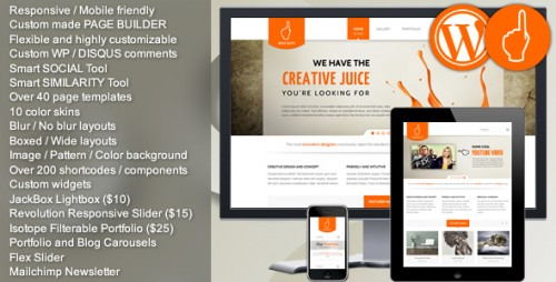 Wise Guys - Responsive Multi-purpose WordPress