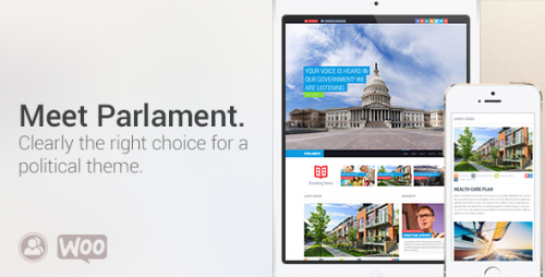 Parlament: Political WordPress Theme