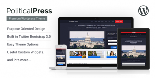 Political Press - Responsive WordPress Theme