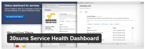 30suns Service Health Dashboard