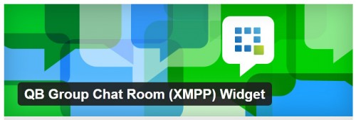 QB Group Chat Room (XMPP) Widget