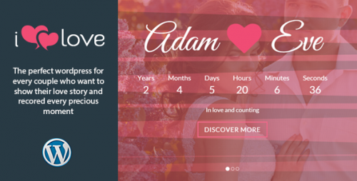 ilove - Responsive Wedding Event WordPress Theme