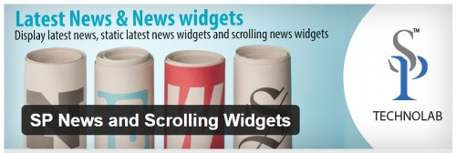 SP News and Scrolling Widgets