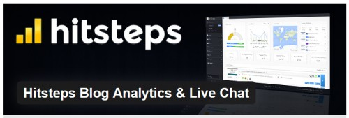 Hitsteps Blog Analytics & Live Chat