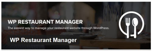 WP Restaurant Manager