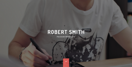 Robert Smith - Responsive Retina Resume Theme