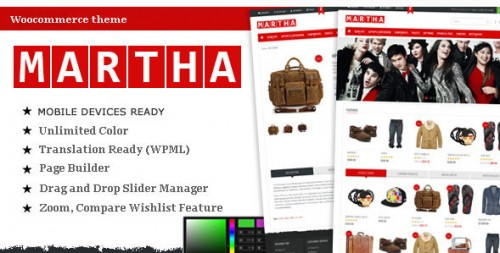 Martha - Woocommerce Premium Theme