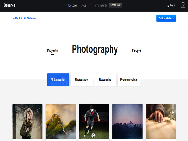 Photography Served from Behance